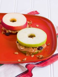 7 Adorable School Snacks We Wish We Thought Of If both of you agree that ants on a log is getting a little old, add a fun new twist to snack time with these adorable, nutritious recipes. And, yes, it's fine to take some to the office for yourself.  Read more: Healthy Kids Snacks - Healthy Snack Recipes - Redbook Follow us: @REDBOOK Magazine on Twitter | REDBOOK on Facebook Visit us at Redbook.com