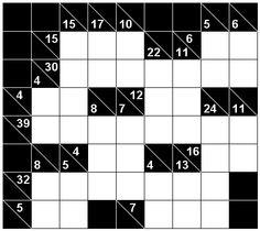 Number logic puzzle 19242 Type: Kakuro,  .  Size: 2.