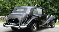 1954 Seven-seater Limousine by H.J. Mulliner (chassis 4BP7, body 5686, design 7368) for H.R.H. Princess Margaret