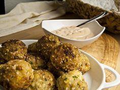 Fisch-Falafel mit Harissa-Mayonnaise | Foodina