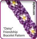 Friendship Bracelet Pattern | Daisy Design | MyFBM.com