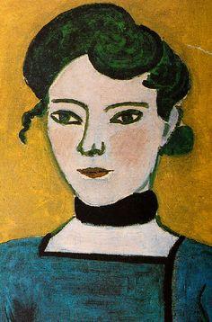 Henri Matisse 1906 portrait de Marguerite