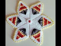 YouTube Pop Corn, Stars, Crochet, Youtube, Crochet Shawl, Crochet Flowers, Embellishments, Craft, Trapper Keeper