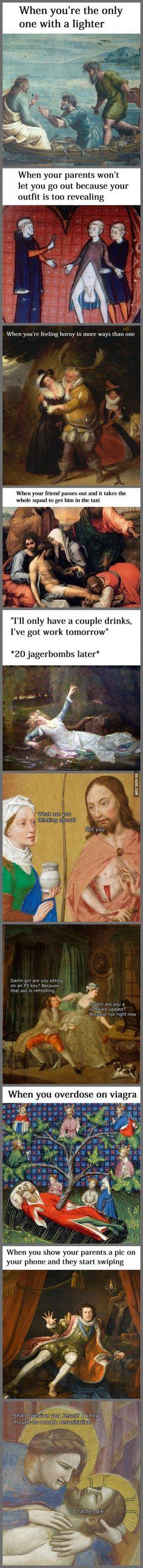 Classical Art Memes Latest (Part-16)