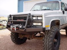 I bought a bumper from this guy for my Bronco and just saw on his website that he makes a bumper for Blazers and Suburbans. They are pretty bad ass so Chevy 4x4, Chevy Pickup Trucks, Gm Trucks, Lifted Trucks, Cool Trucks, Truck Bumper, Winch Bumpers, Square Body, Roll Cage