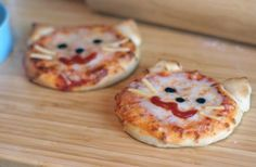 Mini Kitty Pizzas making these with my sister soon