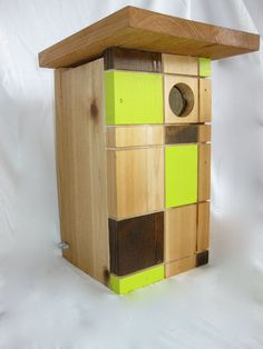 Modern Birdhome. Original design by Matt Estrada. by ChurpModern, $59.00