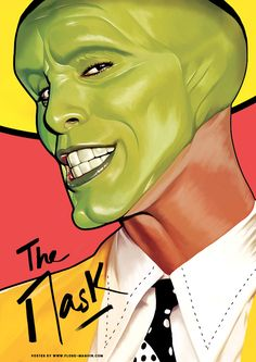 The Mask Jim Carrey Iphone Wallpaper Free – GetintoPik Classic Movie Posters, Movie Poster Art, Poster S, Classic Movies, Best Movie Posters, Poster Maker, Cinema Tv, Films Cinema, Cinema Posters