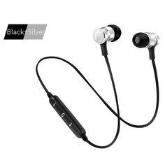 #TomTop - #TomTop S6-6 Wireless Headset HD Stereo Sound Bluetooth 4.1 Earphone Headphones Earphone Sport Bluetooth Headphone for iPhone Android - AdoreWe.com
