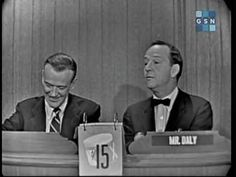 The second and last mystery appearance by Fred Astaire on WML.  This episode originally aired on 08 June 1958.