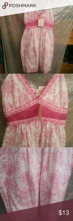 Fun & flirt dress sz xl wth tags retails $ Cute spaghetti strap so cute n flowing fun and flirt  Dresses Strapless