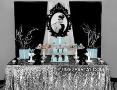 A Tiffany's Themed Bridal Shower