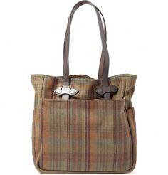 6f1a19c094 Filson Plaid Wool Field Messenger Bag This bag is a design classic