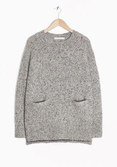 & Other Stories | Waist Pockets Knit Sweater