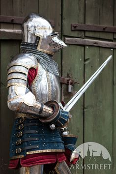 """Medieval Western Arm Armour """"The King's Guard"""""""