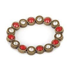 Wedding Bronze Vintage Elastic Design Alloy Fashion #Bangles   US$ 0.89   www.asujewelry.com