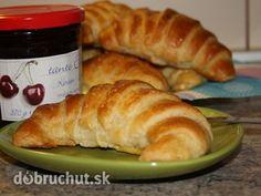 Fotorecept: Domáce maslové croissanty / ešte mám jeden recept v Snídani u Florentýny - porovnám :)