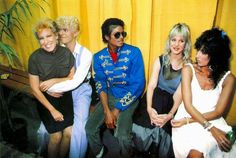 vintage everyday: 20 Awesome Photos of Michael Jackson Hanging Out with His Famous Friends