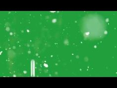 Snow Green Screen Effect (Real Snow) - YouTube