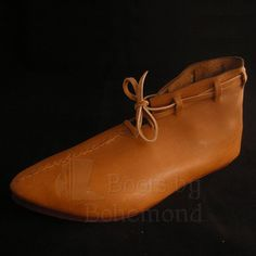 Anglo Scandinavian Shoe for Saxon's and Vikings from BootsbyBohemond.com