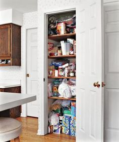 The Pantry: Before | Shape up your supply space with the help of a few key strategies and products.