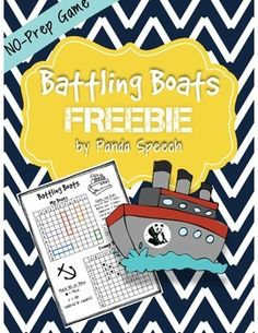 Battling Boats! Open-Ended Game for Lots of Fun! No-Prep/Low Ink! This is a fun open-ended game that can be played in speech therapy sessions, in counseling sessions, in the classroom, or at home!  How I use in Speech Therapy: I use this game while practicing speech therapy objectives.