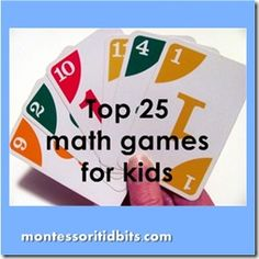 5 Days of Making Math Fun: Games