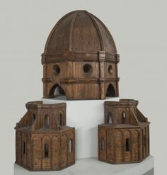 The architect Brunelleschi's four-foot-tall wooden model of the Florence cathedral - Credit Opera di Santa Maria del FioreMuseum - Draws Donatello From Italy - The New York Times Filippo Brunelleschi, Medieval, Italian Renaissance Art, Florence Cathedral, Giorgio Vasari, New York Museums, Arch Model, Biblical Art, New York Art