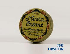The very first #NIVEA Creme tin from 1911!