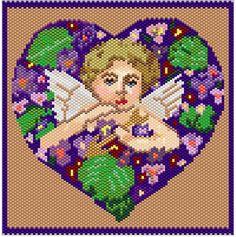Valentine Tapestry Pattern   Bead-Patterns