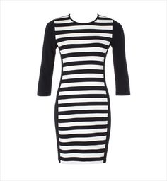 Country Road panelled stripe dress <3