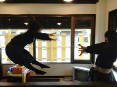 Makankosappo. (The girl on the right looks like Chiaki Kuriyama.)
