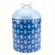 Housewares International American Kennel Club AKC Ceramic Pet Treat Canister ** To view further for this item, visit the image link.
