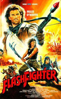 THE ACTIONEER / Flash Fighter aka Lone Runner German VHS (Ruggero Deodato, 1986)