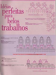 CROCHETANDO COM SONIA: bicos
