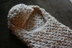Crochet baby cacoon and maching hat set by LaurasHandmadeGifts, $38.00