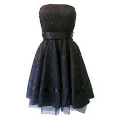 (20) Prom Dress Black Satin | Gothic Clothing | Emo clothing |... ❤ liked on Polyvore featuring dresse