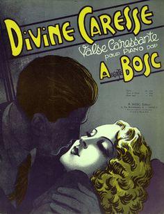 Divine Caresse, 1937 (ill.: Clérice frères); ref. 2585