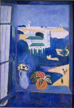 Matisse Window At Tangier oil painting reproduction on canvas