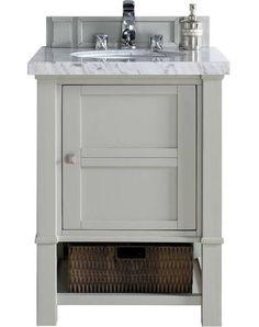 24 Inch Grey Bathroom Vanity With Images Bathroom Vanity Grey