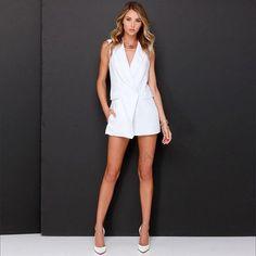 1c3542f31e5 HDY OL sexy pockets jumpsuit sleeveless slim v-neck romper women style  jumpsuits