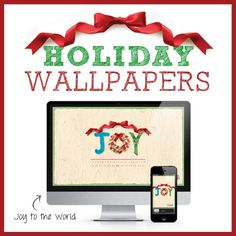#MichaelsStores #holiday wallpaper Joy to the World