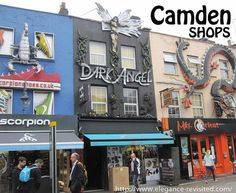 Camden is one of my favourite places in London. It's not a place I would like to live in, I don't go shopping there, and I only visit it maybe… Camden Town, London Places, Windsor Castle, Victoria And Albert Museum, Go Shopping, Places Ive Been, Times Square, Elegant, Travel