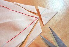Sewing sharp corners
