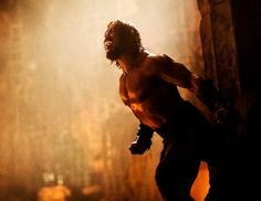 Pin for Later: The Sexiest Pictures of Your Summer Movie Crushes Dwayne Johnson in Hercules He may look like a brute, but damn, check out The Rock's abs. As the iconic character, he's stronger and sexier than ever.