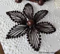 Resultado de imagen para čokoládové ozdoby na dort postup