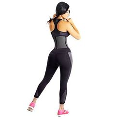 Waist Trainer Corset: 9 Reinforced Steel Bones – Premium Latex and Cotton Cincher by Shape of You Best Waist Trainer, Latex Waist Trainer, Waist Trainer Corset, Best Shapewear For Tummy, Hourglass Fashion, Women's Shapewear, Waist Training, Waist Cincher, Showgirls