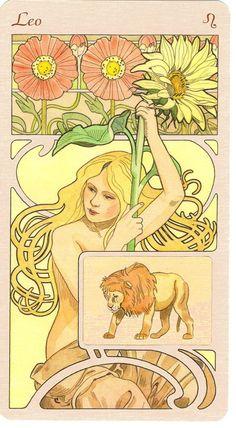 ☆ Leo Astrological Oracle :¦: Artist  Antonella Castelli ☆