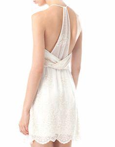 Lace dress - DRESSES - COLLECTION -Stradivarius Greece