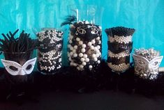 Masquerade Candy Bar - more ideas for my party!